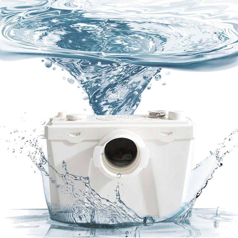 Bomba de aguas residuales 500W Blanco