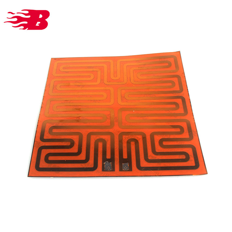 5V 1W Polyimide Adhesive Tape Heater Film Plate Panel PI Film