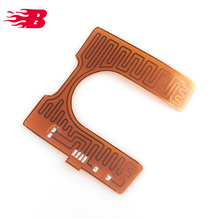 CE Approved Polyimide Film Foil Heater Pi Heating Element For Bathroom Mirror