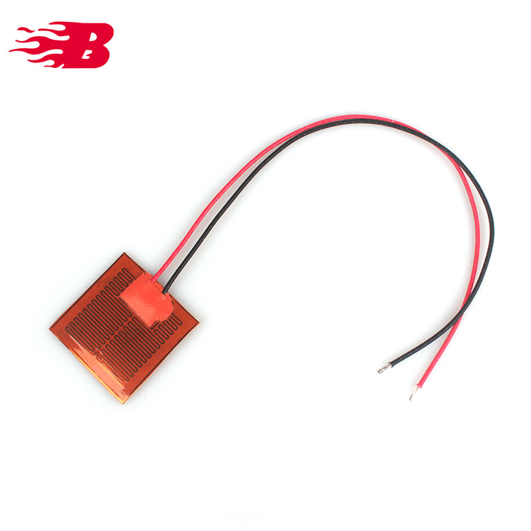24v Silicone Kapton Polyimide Heaters