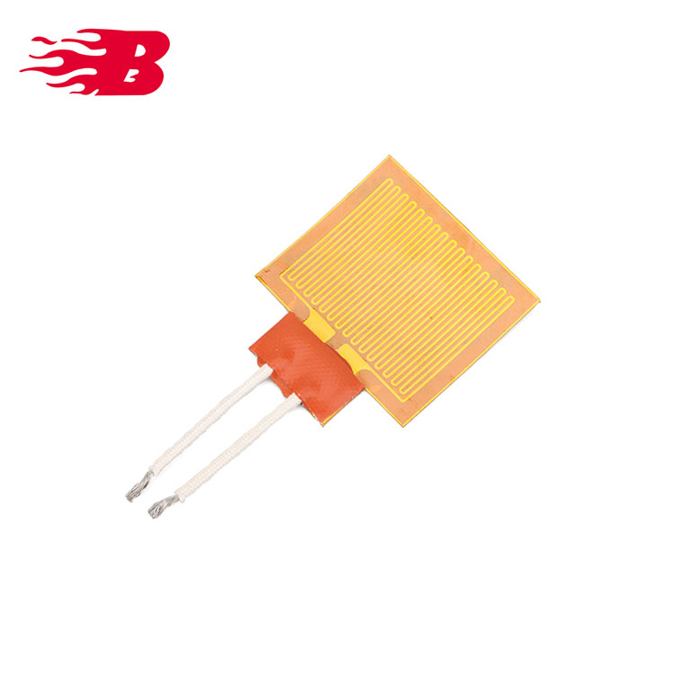 Electric Heating Film Polyimide Heater Very Thin And Light
