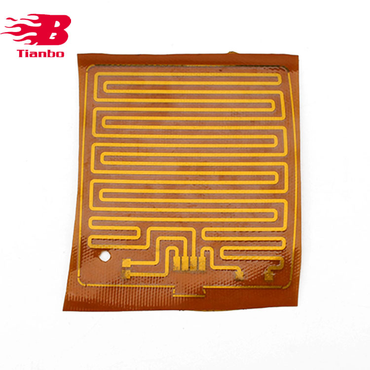 Electric Polyimide Film Heater With A Thermistor