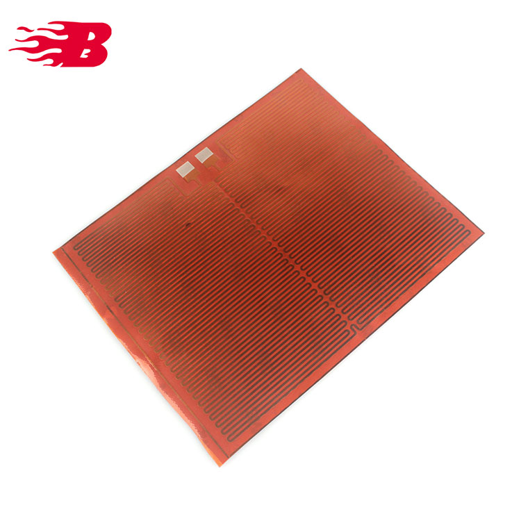 Polyimide Film Thin Film Flexible Heaters With 3m Adhesive