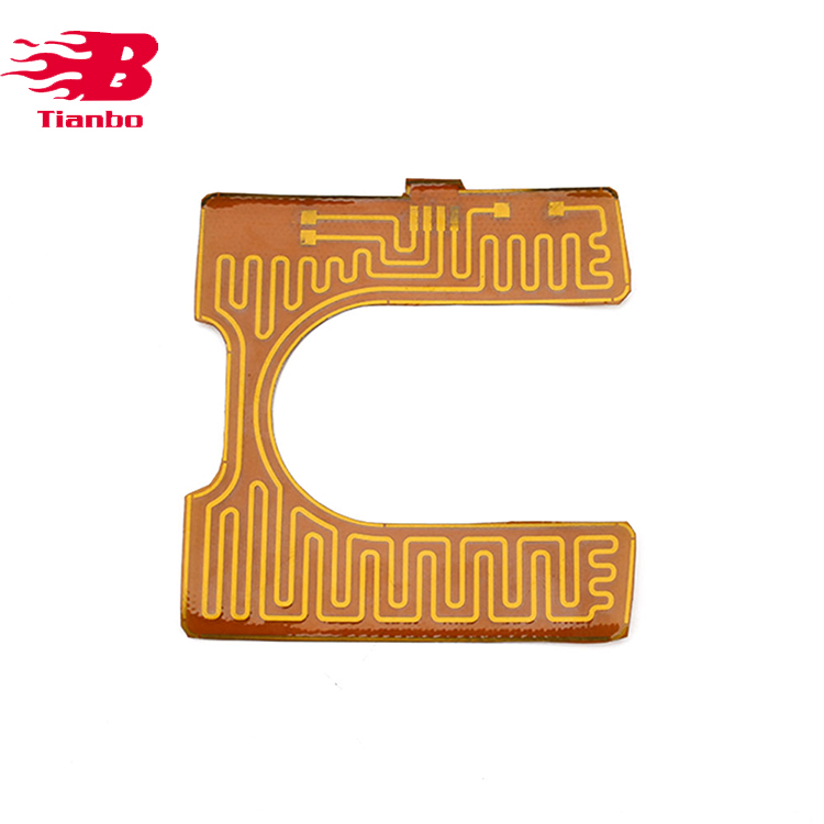 Pt100 Surface Mount Polyimide Film Heater
