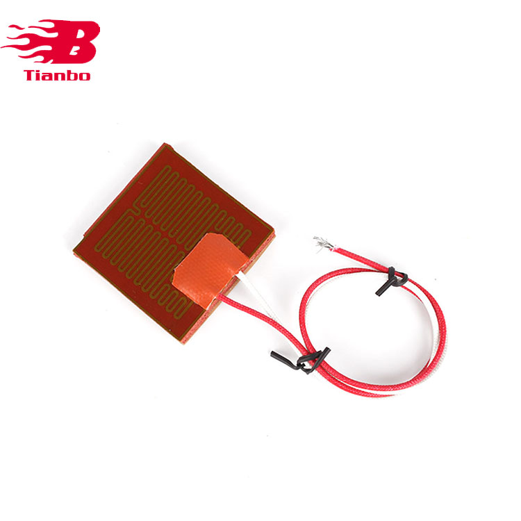 Round Kaptone Film Heater For 3d Printer