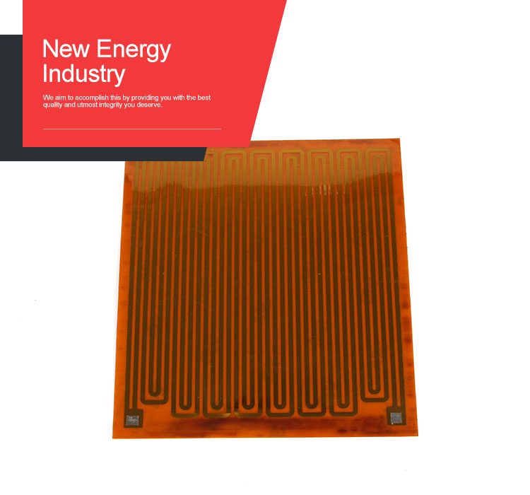 Lithium Battery Heater Polyamide Heater With 3m Adhesive Tape