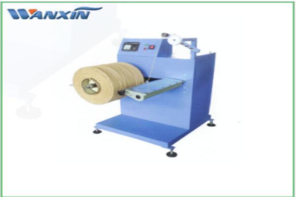 Arbejdsprincippet med papirpose håndtag reb reb maskine
