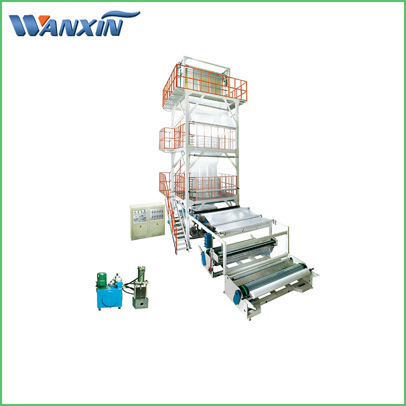 Big Size Single Layer PE Film Blowing Machine