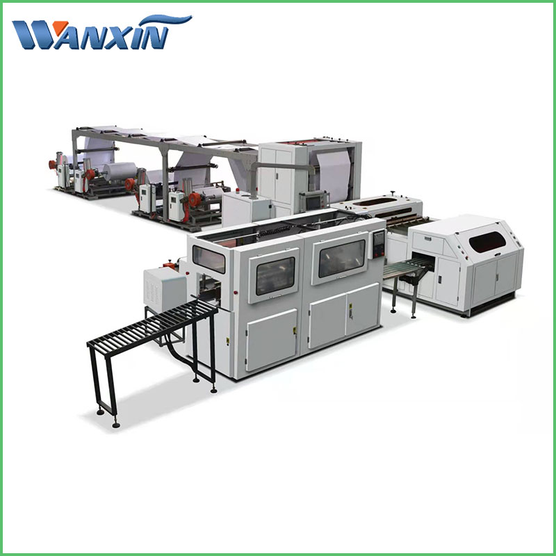 Full Automatic High Speed Cross Cutting Trimming Machine