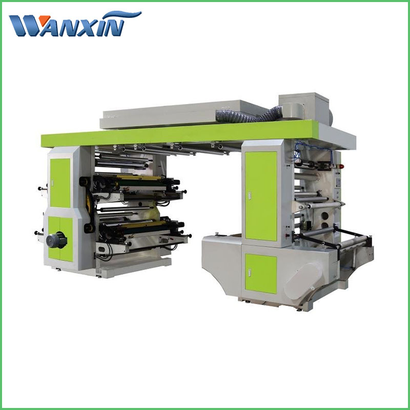 Middle Speed Flexo Printing Machine