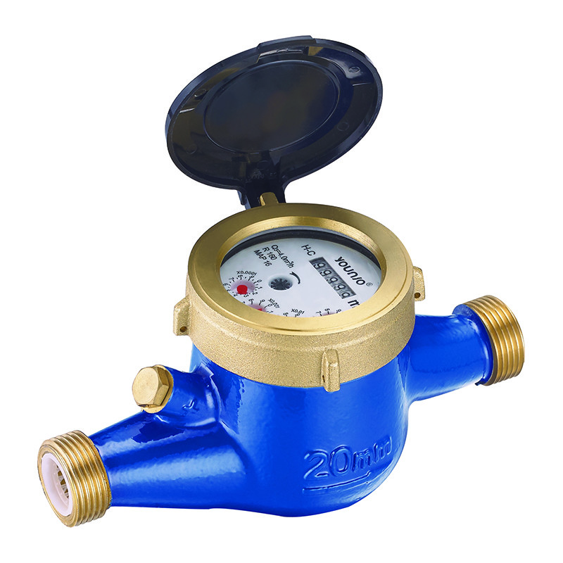 R160 Multi Jet Semi Liquid Sealed Water Meter With MID Approved