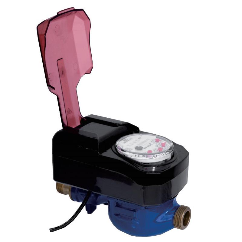 Photoelektrischer Wasserzähler mit direkter Ablesung und Ventilsteuerung