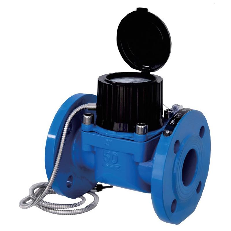 Photoelektrisches direkt ablesbares drahtloses Woltman-Wasserzähler