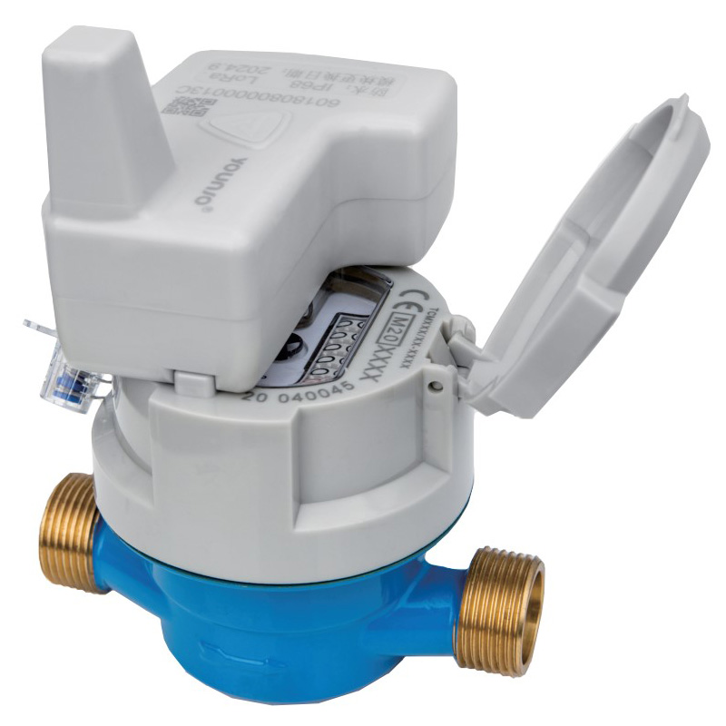 Single Jet Dry Typ Wasserzähler mit induktiv vorgerüstet