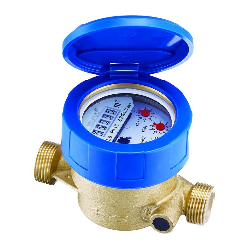 Single Jet Liquid Sealed Type Wasserzähler
