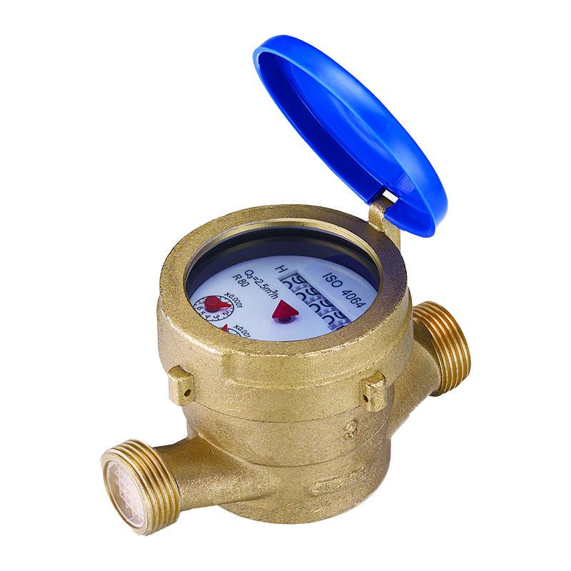 Single Jet Wet Type Wasserzähler
