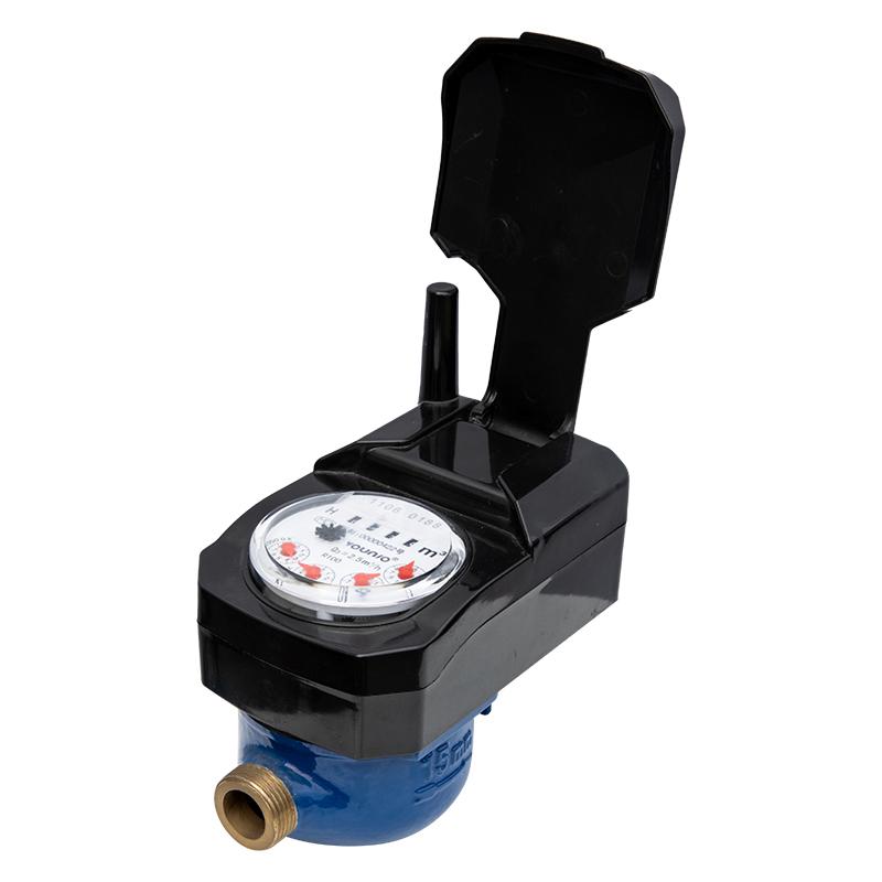 Water meter with valve