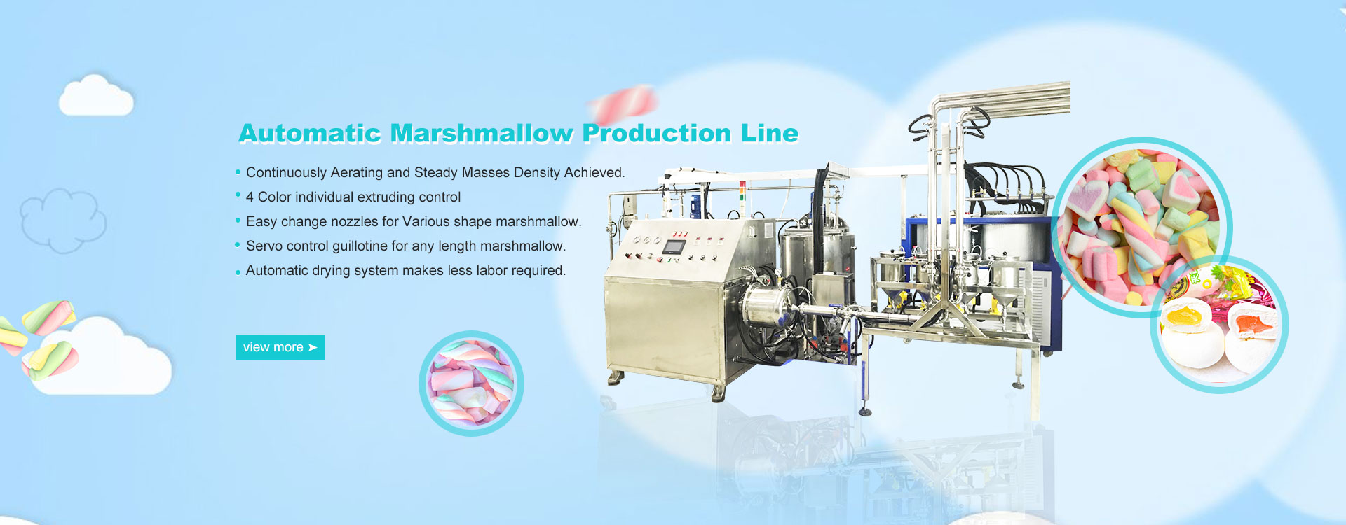 Automatic Marshmallow Production Line