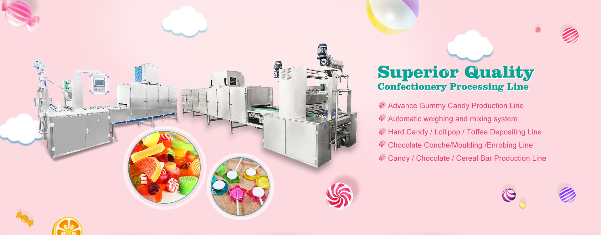 Gummy Machines Manufacturers