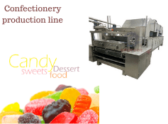Confectionery production line workflow|Sinofude