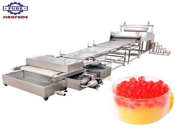 How to choose the cost-effective popping boba machine processing production line equipment