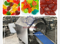 The history of confectionery machinery and the principles of its use