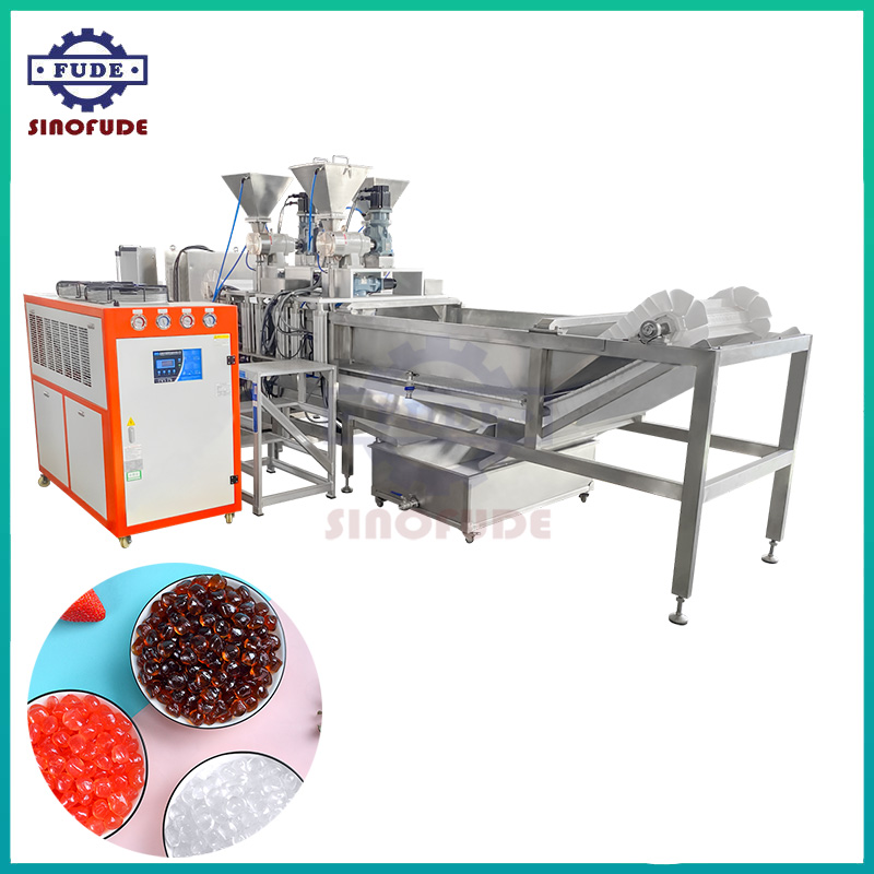 Extruding Type Konjac Ball Production Line