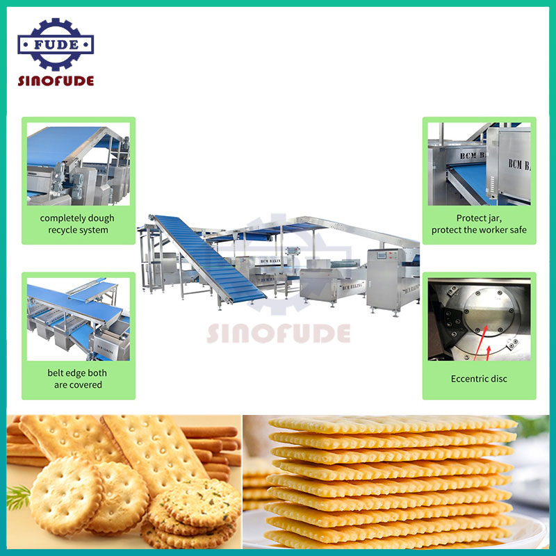 Automatic Multifunctional Biscuit Production Line