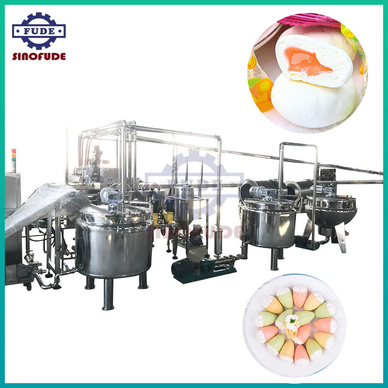Deposited Marshmallow Production Line