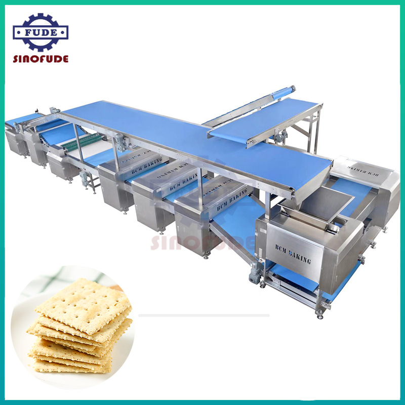 Hard Biscuit Sheeting And Roller Cutting Machine