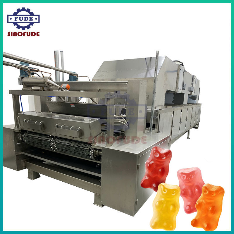 High Capacity starchless gummy mogul line