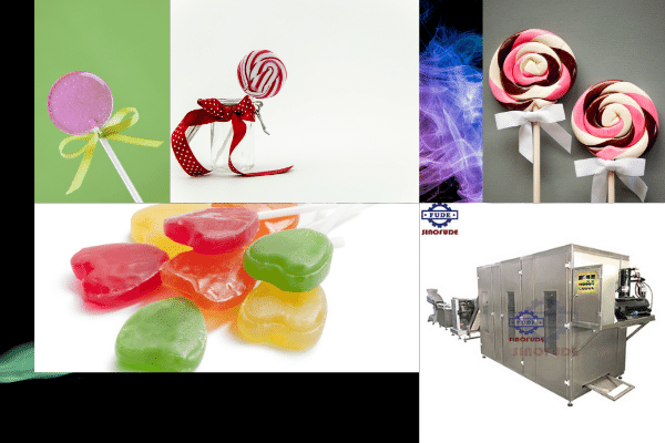 lollipop depositing lines