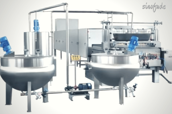 Confectionery-equipment safety control