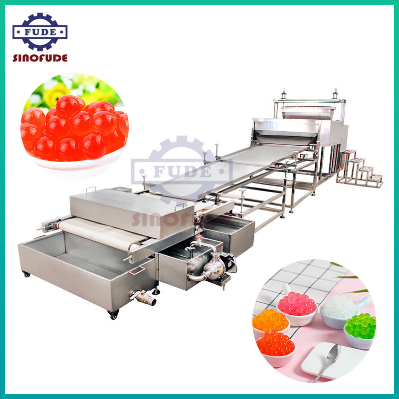 Popping Boba and Agar Boba Production Line
