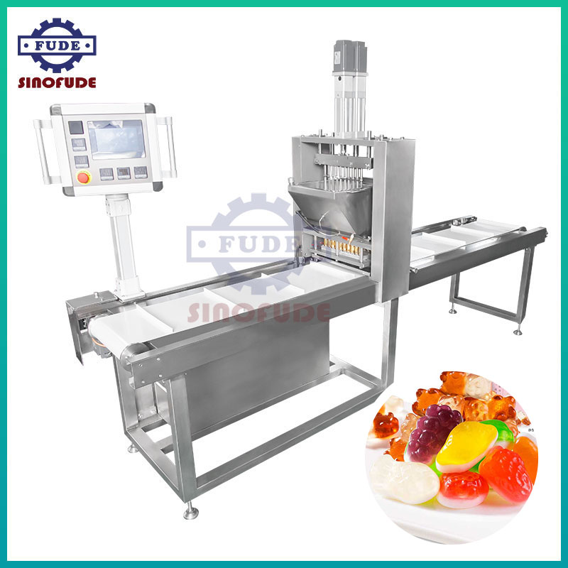 Semi Automatic Gummy candy line