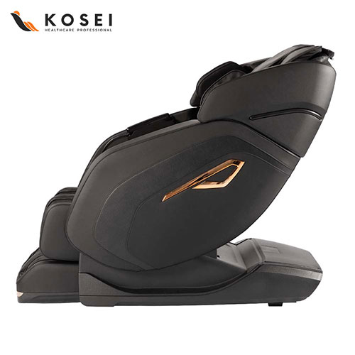 4D Massage Chair With Footrest