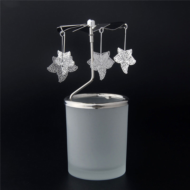 Glass Rotary Candle Holder