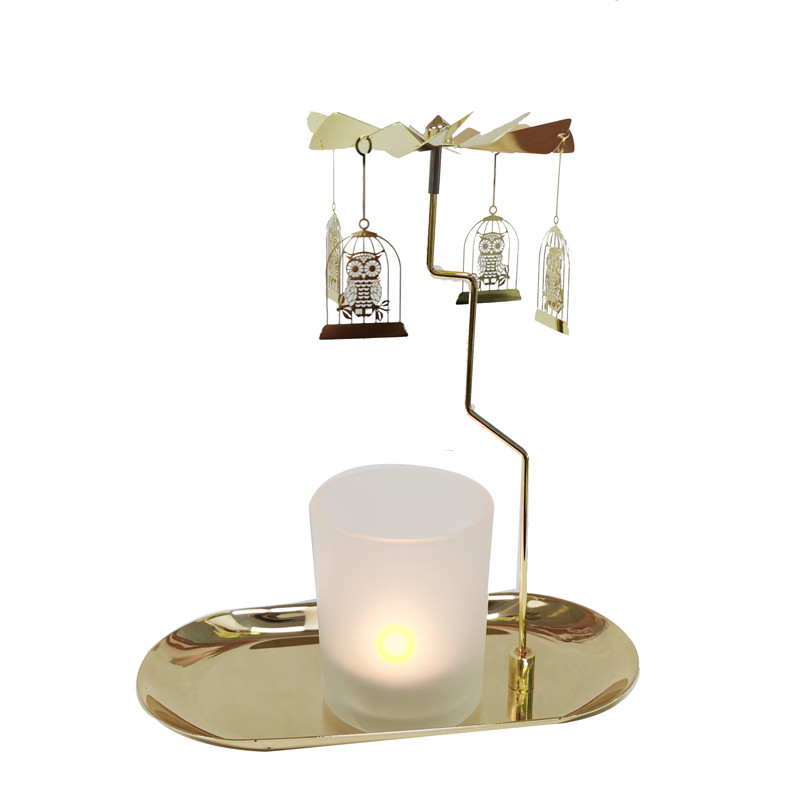 Tray Rotary Candle Holder