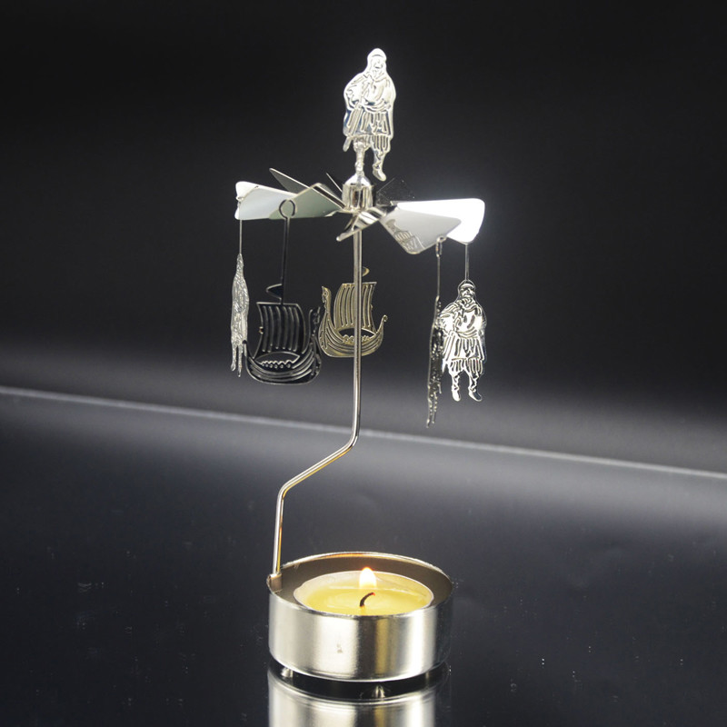 Vikings Rotary Candle Holder