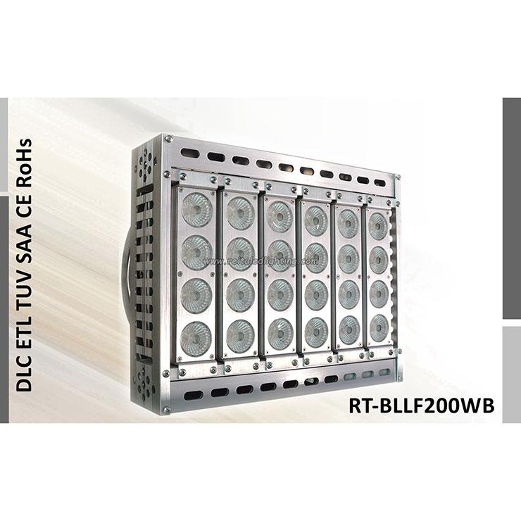 Hellstes LED-Flutlicht 200 Watt