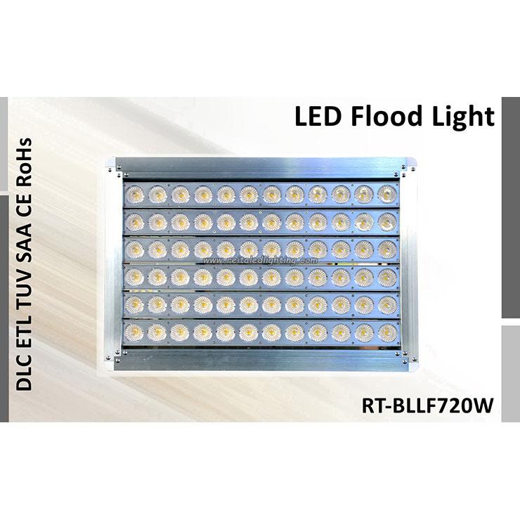 Neues LED-Flutlicht 720Watt