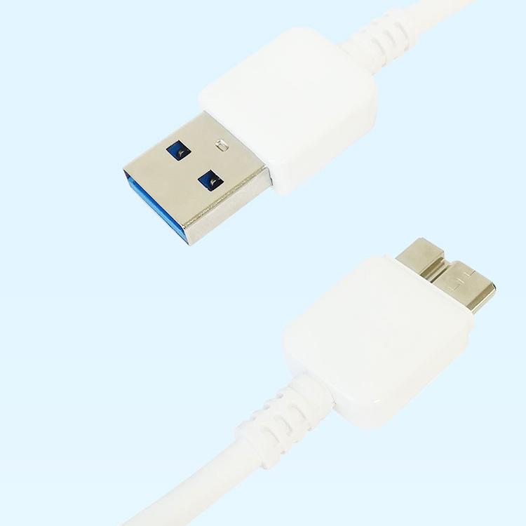 Original Samsung Datenkabel ET-DQ11Y1WE 21-poliges USB 3.0-Schnellladekabel für Samsung Galaxy S5 Note 3