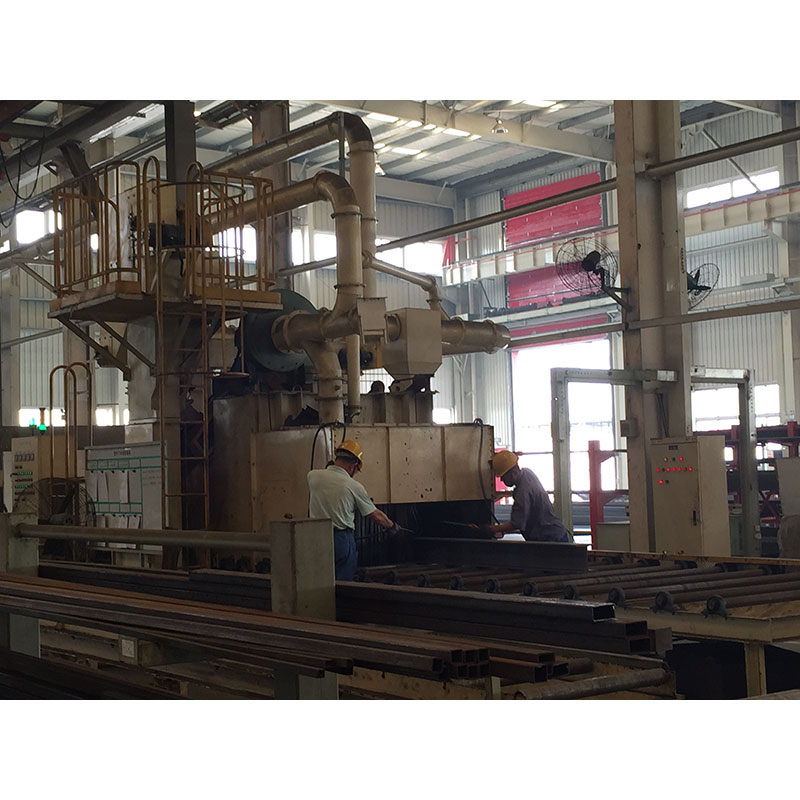 Pass Type Shot Blasting Equipment For Internal And External Of Pipe And Tube