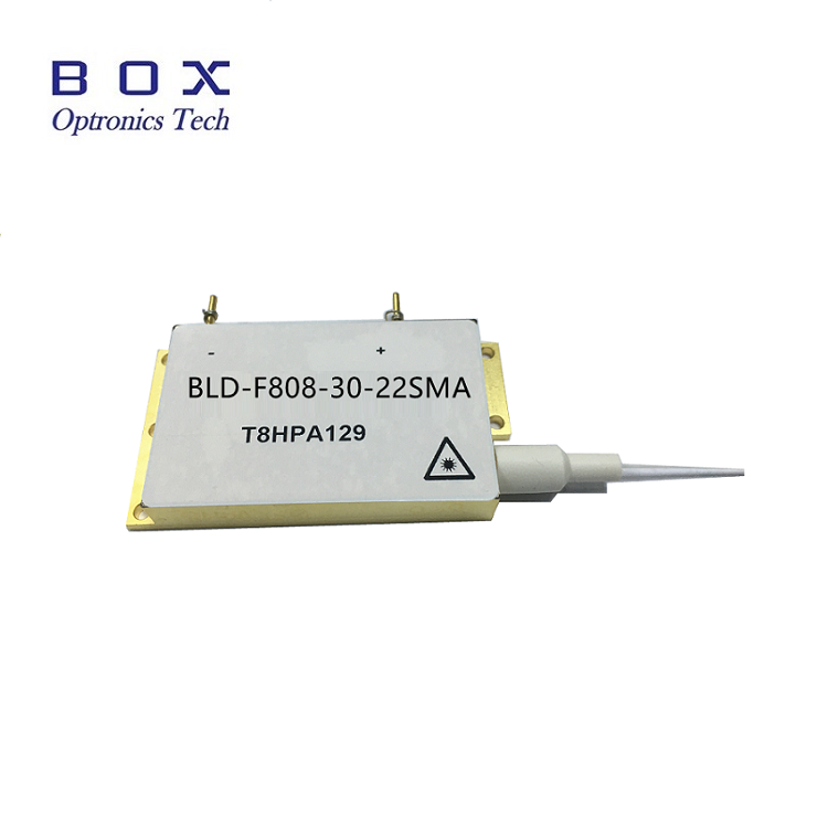808nm 35W High Power Fiber တွဲစပ်သော Diode Laser