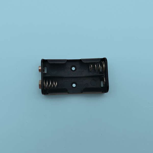 2 AA Battery Holder with Snap Terminals