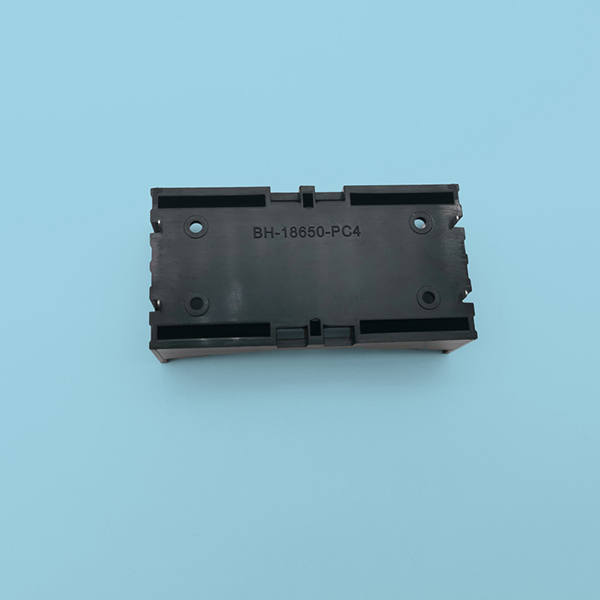 2 Li-ion 18650 Battery Holder with PC Pins