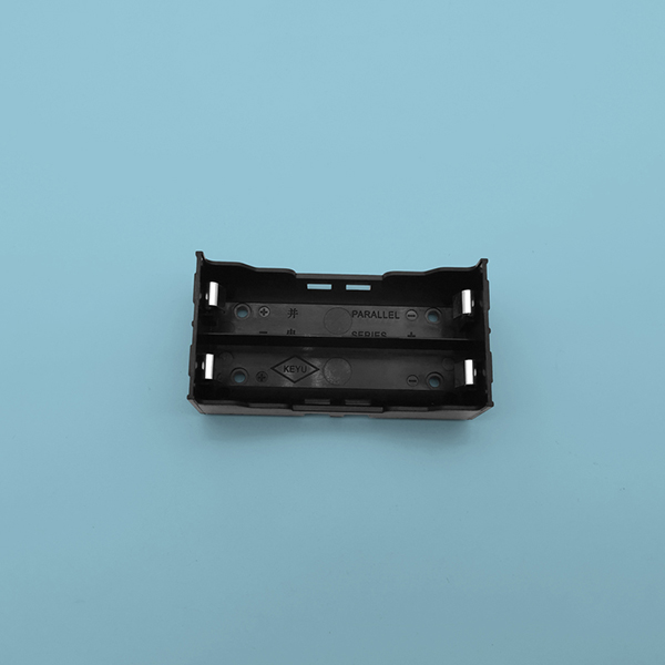 2 Li-ion 18650 Battery Holder with PCB Mount