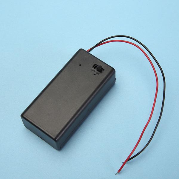 9V Battery Holder with ON-OFF Slide Switch