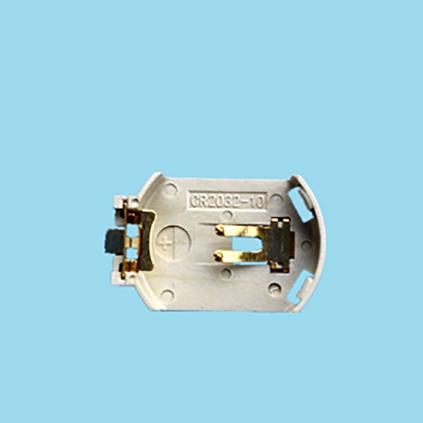 Cr2032 Holder with Surface Mount Leads