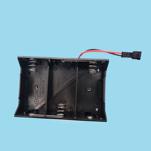 D Battery Holder with Wire
